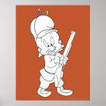 Elmer Fudd Hunting Poster