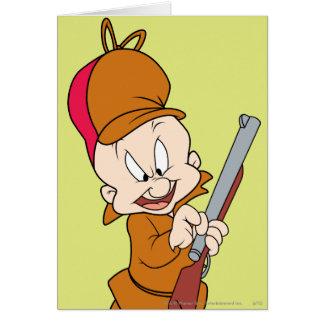 Elmer Fudd listo para cazar Tarjeta
