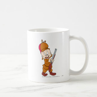 Elmer Fudd listo para cazar Taza De Café