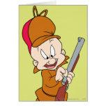 Elmer Fudd Ready to Hunt Greeting Card