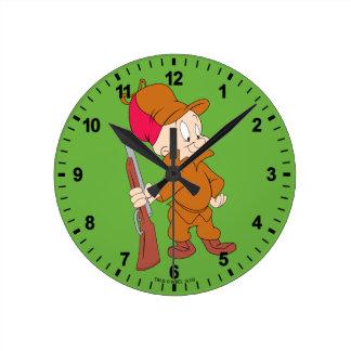 ELMER FUDD™ | With Gun Round Clock