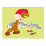 Elmer Fudd y Bugs Bunny Postal
