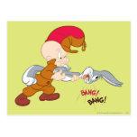 Elmer Fudd y ™ de BUGS BUNNY Postal