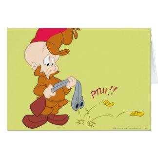 Elmer Fudd's Gun Failure Card