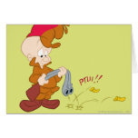 Elmer Fudd's Gun Failure Greeting Card