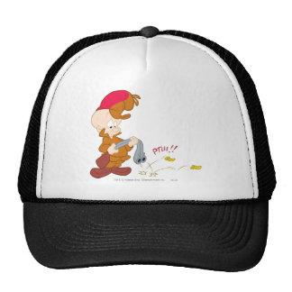 Elmer Fudd's Gun Failure Trucker Hats
