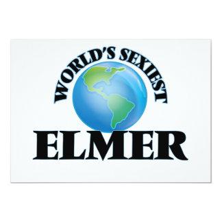 Elmer más atractivo del mundo invitación 12,7 x 17,8 cm