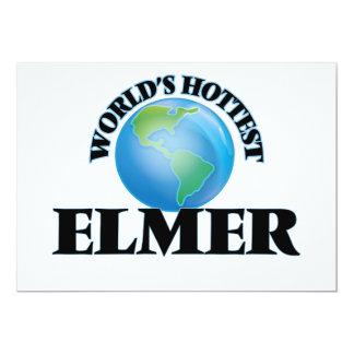 Elmer más caliente del mundo invitación 12,7 x 17,8 cm