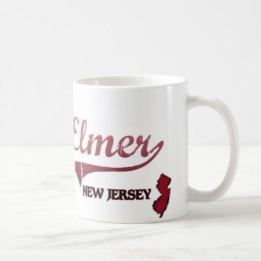 Elmer New Jersey City Classic Classic White Coffee Mug