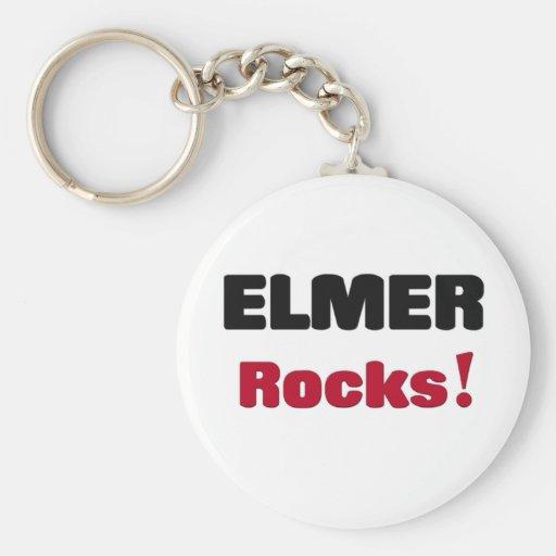 Elmer Rocks Keychains