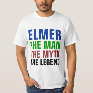 Elmer the man, the myth, the legend t-shirt