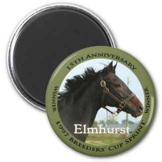 Elmhurst - 97 Breeders Cup Sprint Winner Refrigerator Magnet