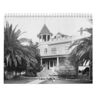 Elmhurst de Sacto, parque de Tahoe, y alturas Calendario