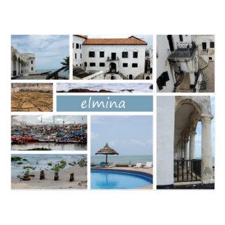 Elmina postcard