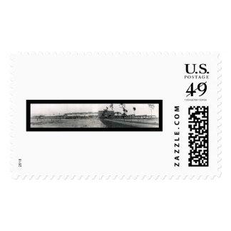 Elmira NY Bridge Co Photo 1909 Postage Stamp