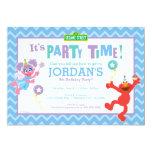 Elmo and Abby Birthday 5x7 Paper Invitation Card