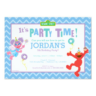 60 off sesame street birthday invitations shop now to save zazzle elmo and abby birthday invitation filmwisefo