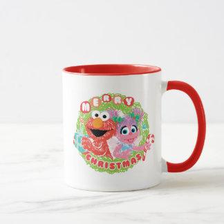 Elmo and Abby Scribble Mug