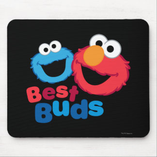 Elmo and Cookie Besties Mouse Pad