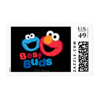 Elmo and Cookie Besties Postage