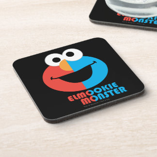 Elmo and Cookie Half Face Drink Coaster