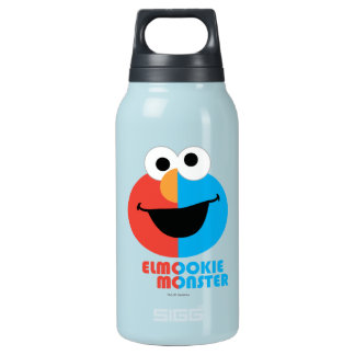 Elmo and Cookie Half Face Insulated Water Bottle