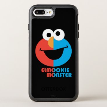 Elmo and Cookie Half Face OtterBox Symmetry iPhone 8 Plus/7 Plus Case