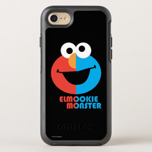 Elmo and Cookie Half Face OtterBox Symmetry iPhone SE/8/7 Case