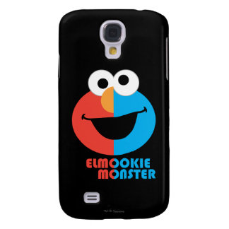 Elmo and Cookie Half Face Samsung S4 Case