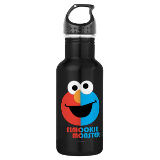 Elmo and Cookie Half Face Water Bottle