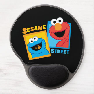 Elmo and Cookie Monster Friends Gel Mouse Pad