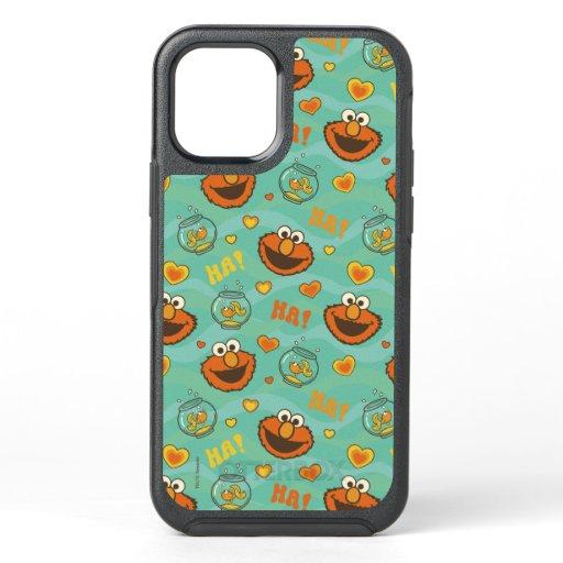 Elmo and Goldfish Pattern OtterBox Symmetry iPhone 12 Case
