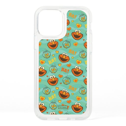 Elmo and Goldfish Pattern Speck iPhone 12 Pro Case