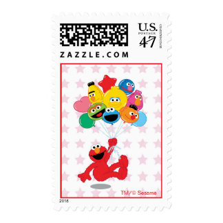 Elmo and Pals Birthday Balloons Postage
