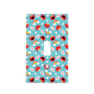 Elmo and Rainbows Pattern Light Switch Cover