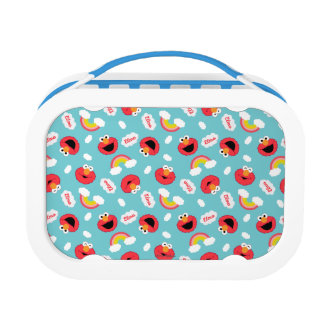 Elmo and Rainbows Pattern Lunch Box