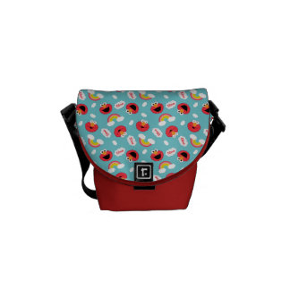 Elmo and Rainbows Pattern Courier Bags
