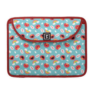 Elmo and Rainbows Pattern Sleeve For MacBook Pro
