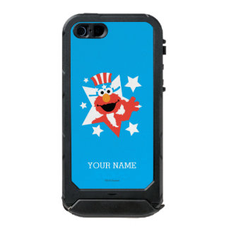 Elmo as Uncle Sam | Add Your Name Waterproof Case For iPhone SE/5/5s