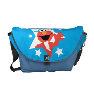 Elmo as Uncle Sam Courier Bags