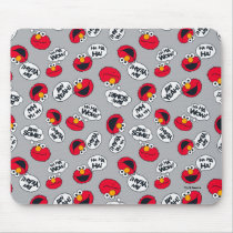Elmo | Aw Yeah, Awesome Pattern Mouse Pad