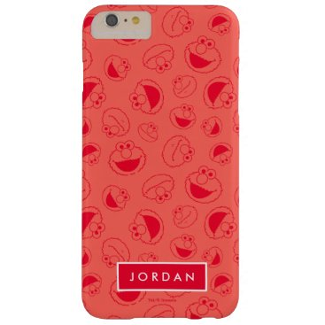 Elmo | Awesome Red Pattern Barely There iPhone 6 Plus Case