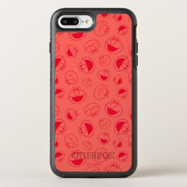 Elmo | Awesome Red Pattern OtterBox Symmetry iPhone 8 Plus/7 Plus Case