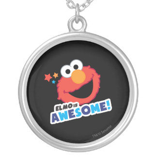 Elmo Awesome Silver Plated Necklace