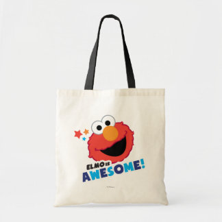 Elmo Awesome Tote Bag