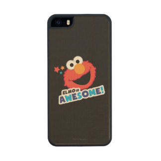 Elmo Awesome Carved® Maple iPhone 5 Case