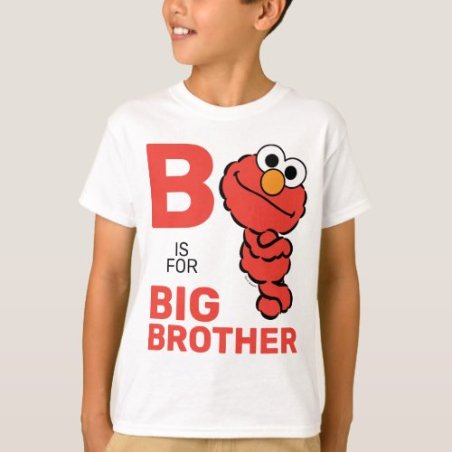 Elmo  B is for Big Brother T_Shirt