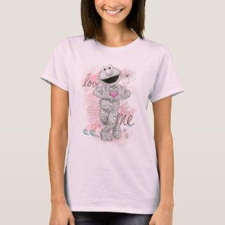 Elmo B&W Sketch Drawing T-Shirt
