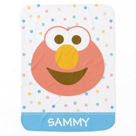 Elmo Baby Big Face Swaddle Blanket