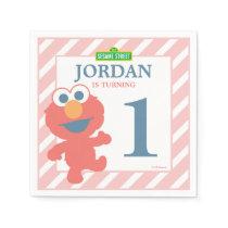 Elmo Baby Birthday Paper Napkins